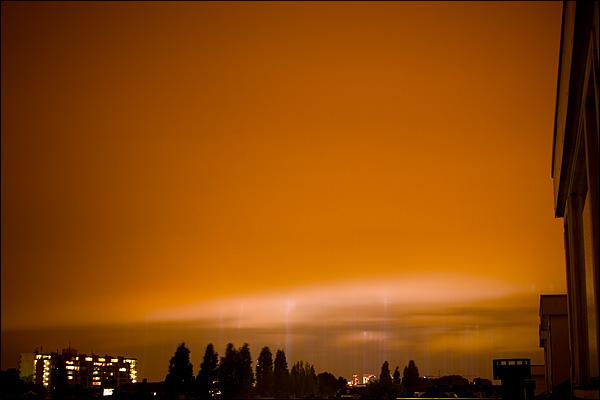 Brandgrens bombardement Rotterdam