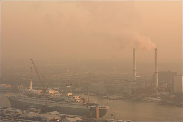 De SS Rotterdam, Maashaven