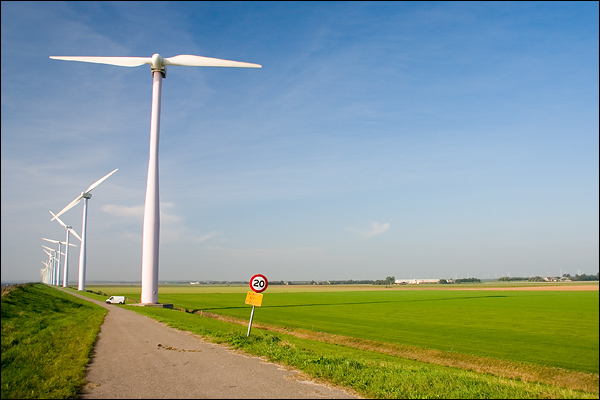 Windmolens in Zeewolde