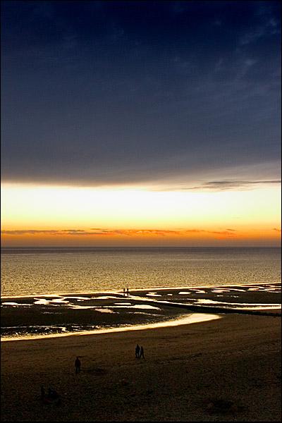 Zonsondergang vanaf De Punt, Westerschouwen