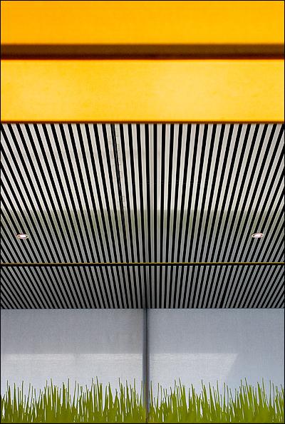 Plafond abstract