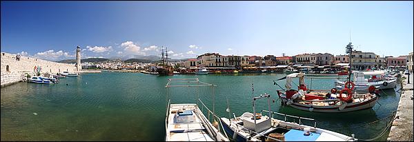 Oude Venitiaanse haven van Rethymnon, Kreta