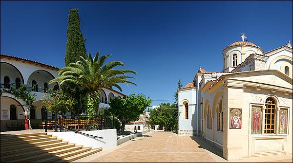 Nonnenklooster en weeshuis Kaliviani