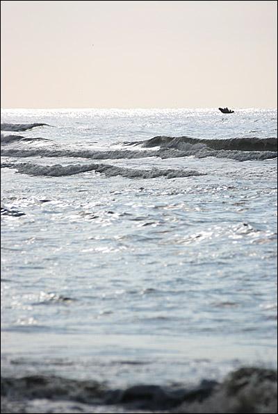 Bootje op zandvoort