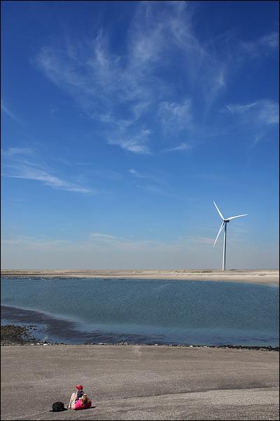 Windmolen op Neeltje Jans