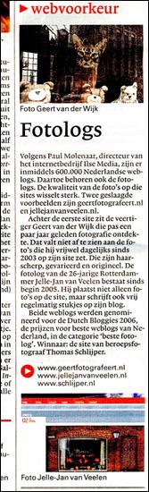 www.jellejanvanveelen.nl in NRC Next