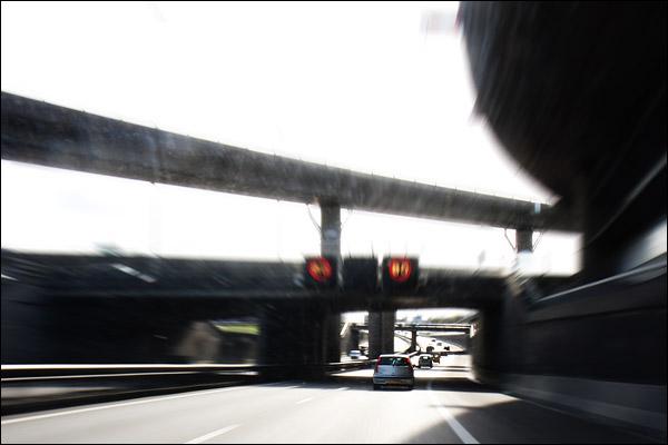 Snelweg Kleinpolderplein A20
