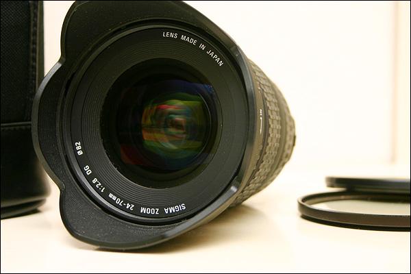 Sigma 24-70 f/2.8 EX (Canon)