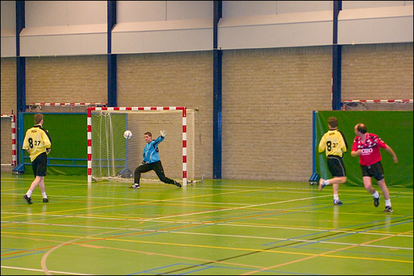 Zaalvoetbal: PPSC H2 - Europoint
