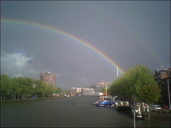 Regenboog Coolhaven Rotterdam