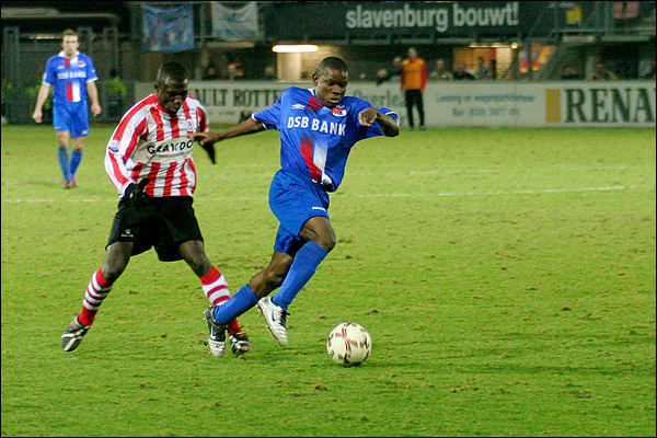 Anthony Obodai en Pius Ikedia