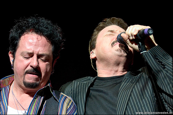 Toto - Steve Lukather en Bobby Kimball - Falling in Between tour, Ahoy Rotterdam