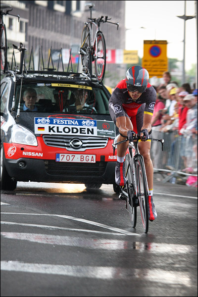 Andreas Klöden, Tour de France Rotterdam