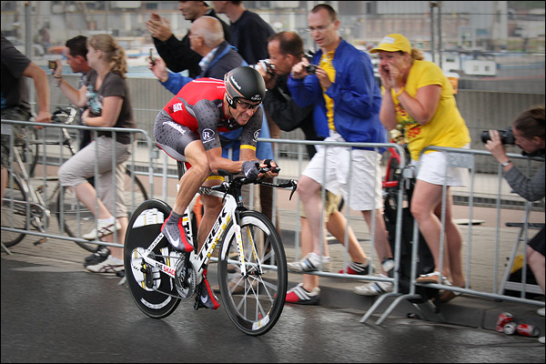 Lance Armstrong in proloog Tour de France, Rotterdam