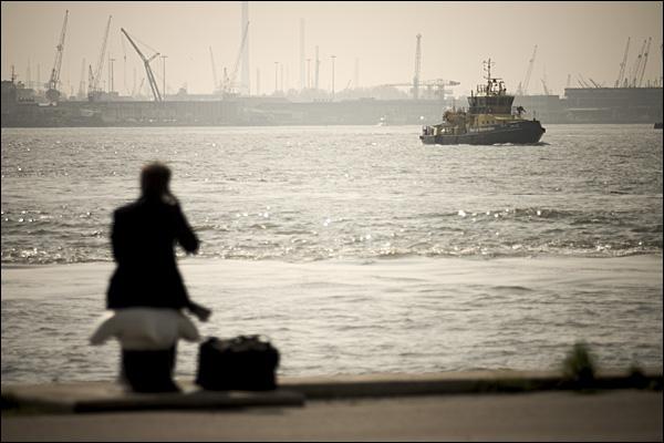 Sleepboot haven Rotterdam