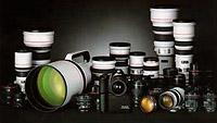 Canon EOS L lenzen