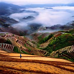 Landschap foto China