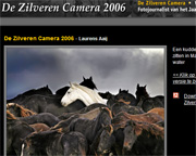 Zilveren camera 2006 voor Laurens Aaij