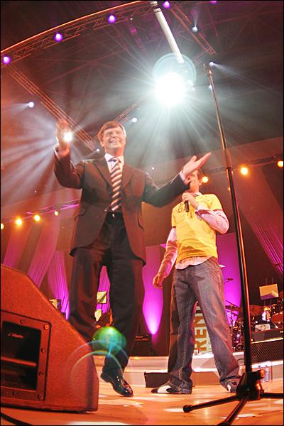 Balkenende op de EO Jongerendag 2005